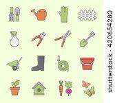 garden tools icon | Shutterstock .eps vector #420654280