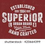 vintage los angeles typography  ... | Shutterstock .eps vector #420664399
