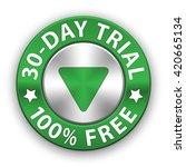 free trial metallic button ...