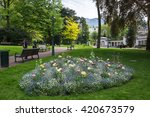 aix les bains  france   30... | Shutterstock . vector #420673579