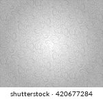 light gray  silver pattern... | Shutterstock .eps vector #420677284