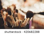 set of professional visagiste... | Shutterstock . vector #420682288