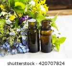 alternative herbal medicine... | Shutterstock . vector #420707824