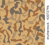 camouflage seamless pattern | Shutterstock .eps vector #42072796