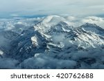 Small photo of Aconcagua The highest mountain of the Andes is the Aconcagua with 22837 feet or 6961 meters altitude