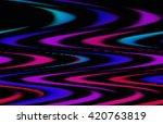 abstract futuristic mosaic.... | Shutterstock . vector #420763819