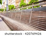 Bench View In Budapest Center