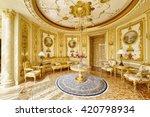 luxurious interiors | Shutterstock . vector #420798934