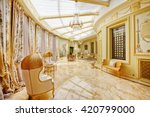 luxurious interiors | Shutterstock . vector #420799000