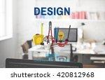 design craft creation ideas art ...   Shutterstock . vector #420812968