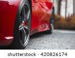 super sport racing car detail... | Shutterstock . vector #420826174