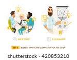 design elements for web... | Shutterstock .eps vector #420853210