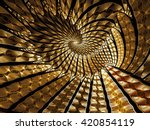 abstract fractal background  ... | Shutterstock . vector #420854119