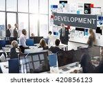 development change growth... | Shutterstock . vector #420856123