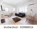 renovated old and spacious... | Shutterstock . vector #420888016