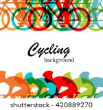 Bicycle Race Or Cycling ...