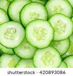 Fresh Cucumber Slices...