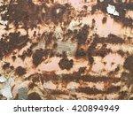 rust texture | Shutterstock . vector #420894949
