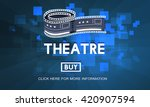 theatre theater cinema film... | Shutterstock . vector #420907594
