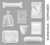 food packaging for different... | Shutterstock .eps vector #420931804