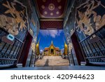 wat phra kaew  temple of the... | Shutterstock . vector #420944623