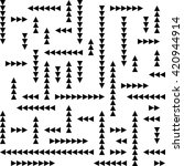 seamless triangle pattern....   Shutterstock .eps vector #420944914