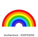Rainbow. Rainbow Icon. Rainbow...