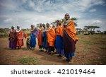 masai mara   october 02   young ...   Shutterstock . vector #421019464