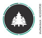 chritmas spruce simple flat...
