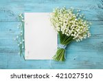 Bouquet Of Flowers Lily Of The...