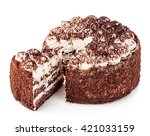 Delicious Cake Close Up...