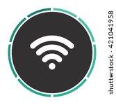 wireless zone simple flat white ...