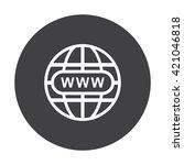 website icon jpg | Shutterstock .eps vector #421046818