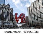 Love statue  philadelphia ...