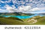 Yamdrok Lake Panorama From...
