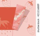 fruit tube | Shutterstock .eps vector #421116889
