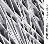 3d render  modern white... | Shutterstock . vector #421126870