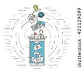 vector illustration represents...