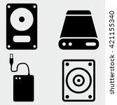 external hard drive icons