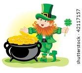 leprechaun | Shutterstock .eps vector #42117157
