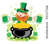 st. patrick's day  cheerful... | Shutterstock .eps vector #42117166
