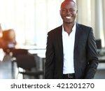 image of african american... | Shutterstock . vector #421201270