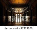 Capitol Hallway - stock photo