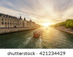Boat Tour On Seine River In...