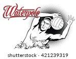 summer kinds of sports. water...   Shutterstock .eps vector #421239319