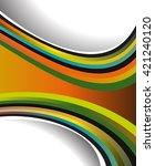 professional business design...   Shutterstock .eps vector #421240120