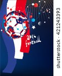 world football championship | Shutterstock .eps vector #421243393