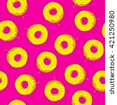 Seamless Pattern With Donuts....