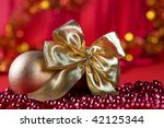 christmas decorated | Shutterstock . vector #42125344