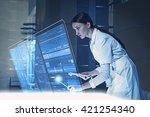 using innovative technologies | Shutterstock . vector #421254340
